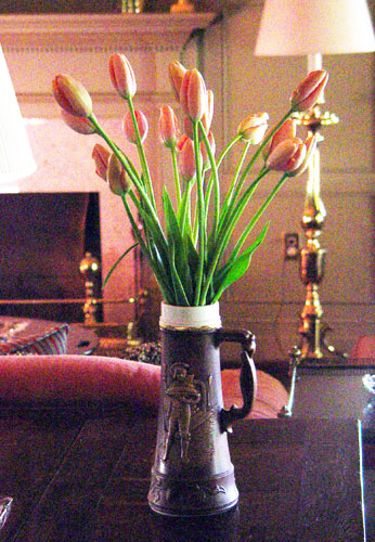 Flowers of French Tulips for the private study for Prince Adullah