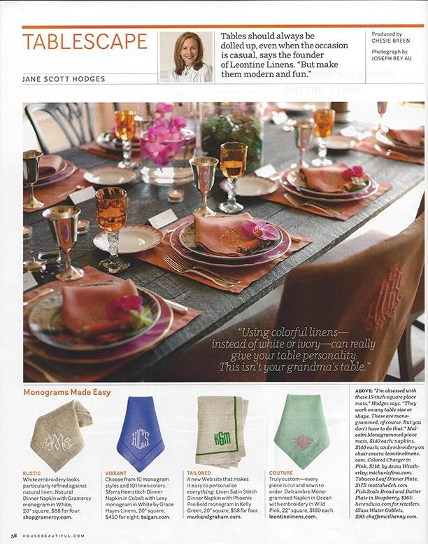 Chambliss Design Featured in House Beautiful