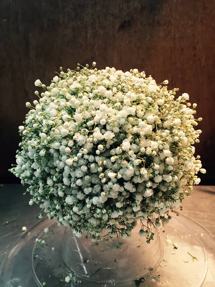 Baby's Breath Centerpiece – Chambliss Design :: Florist ...